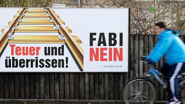 Der Aargauische Gewerbeverband schliesst sich den Fabi-Gegner an und stellt sich damit gegen den nationalen Verband.