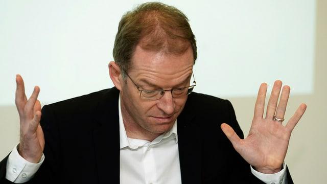 Zürcher Finanzvorstand Daniel Leupi (Grüne)