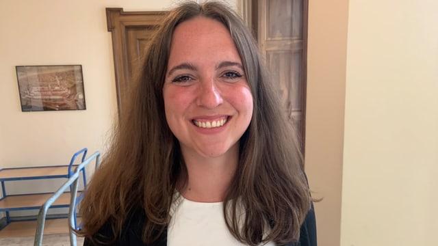 Nina Schläfli, Präsidentin der SP Thurgau, kann sich eine Verbindung zusammen mit der GLP und den Grünen vorstellen.