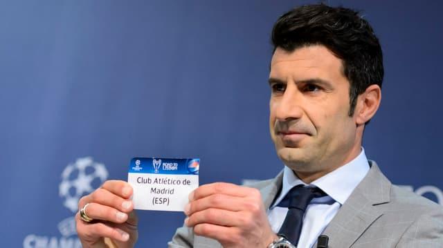 Luis Figo will sich für die FIFA-Präsidentschaft bewerben.