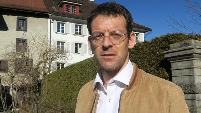 Porträt des Obwaldner Politikers Florian Spichtig.
