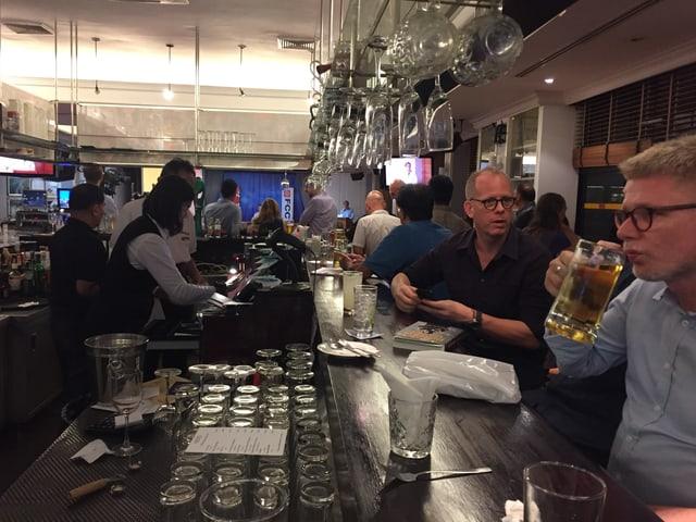 Bar des Korrespondenten-Klubs in Bangkok