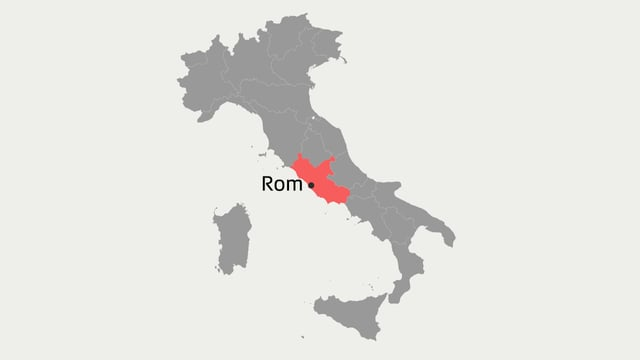 Karte Italiens