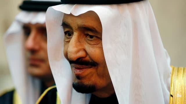 Der saudische König Salman in Riad