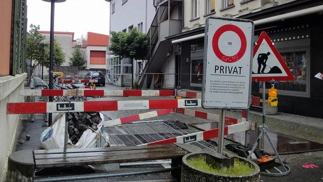 Die Posse um den Aarauer Kamin ist gar keine Posse: Es gibt einen Plan B. (2.4.2014)