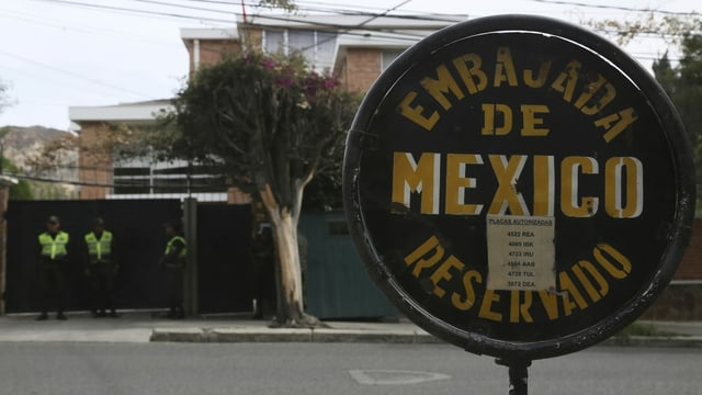Botschaft in La Paz