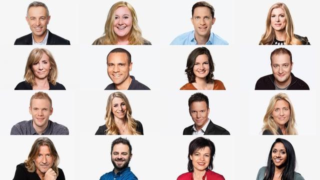 Radio SRF 1 – Die Gesichter hinter dem Mikrofon