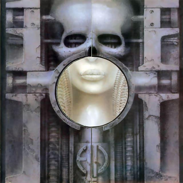 HR Gigers Cover von «Brain Salad Surgery», dem vierten Studioalbum von ELP.