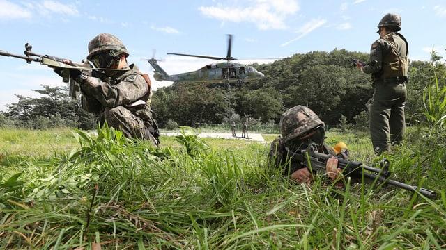 US-Soldaten in Südkorea
