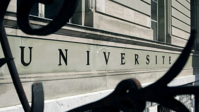 Universität von Genf, Fassade