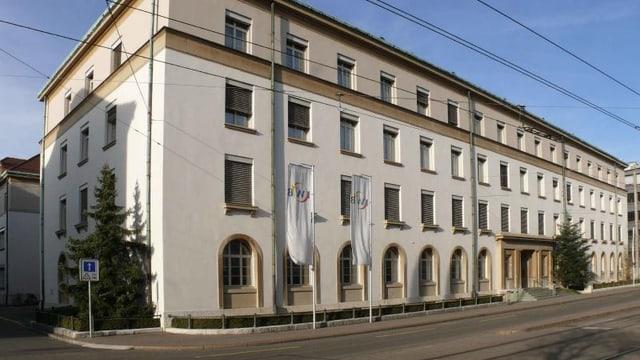 Firmengebäude der IWB an der Margarethenstarsse.