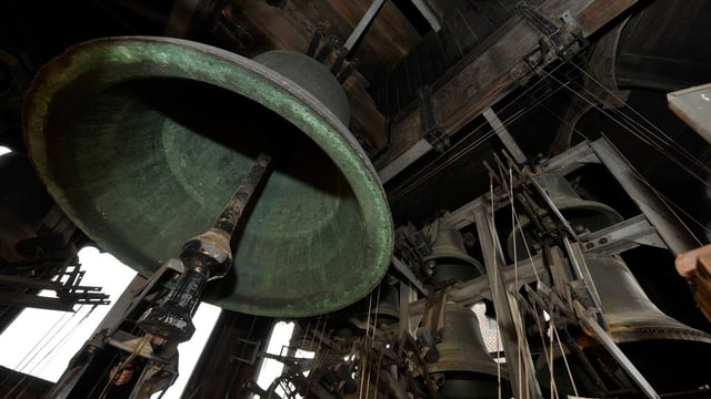Glocke in Kirche in Genf