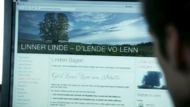 Die Website der Linner Linde: Szene aus der 3. «Bestatter»-Folge.