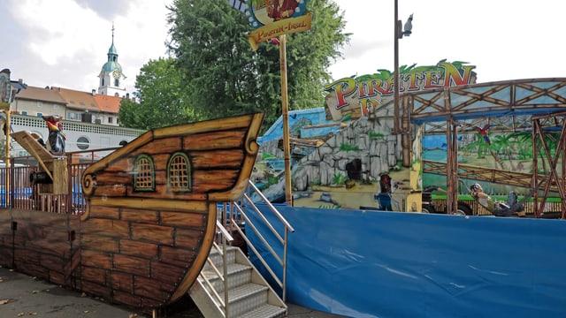 """Wasserbahn """"Piraten-Insel"""""""