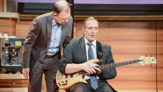 Viktor Giacobbo und Daniel Ziegler im Kaufleuten.