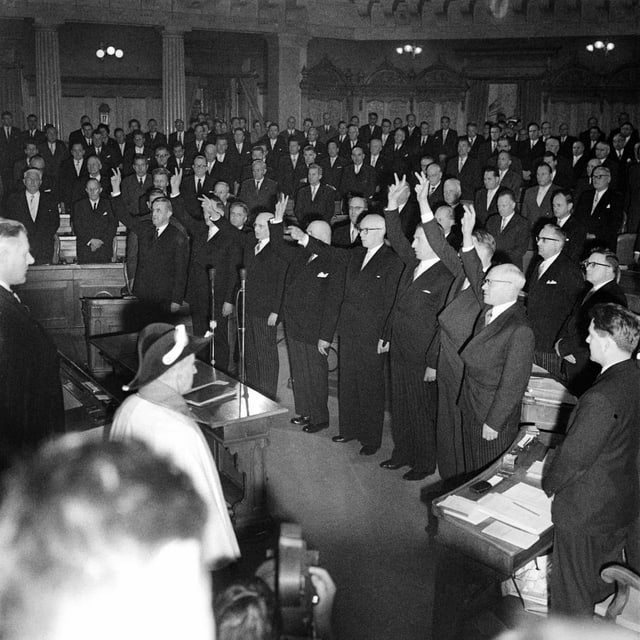 Bundesräte 1959