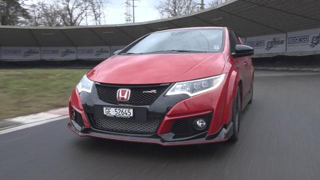 Video «Ford Focus RS vs. Honda Civic Type R, Swiss-Moto, I wie Innenraum» abspielen