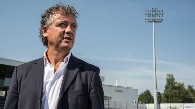 Sportchef Erdal Keser.