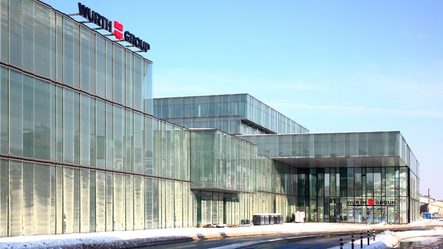 Firmensitz von Würth in Rorschach