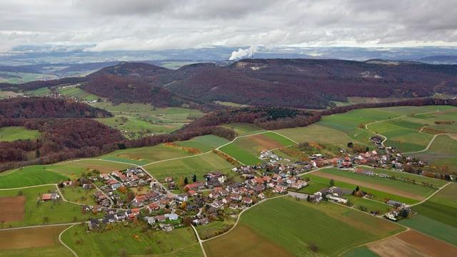 Luftaufnahme Bözberg