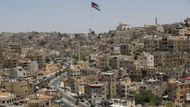 Jabal el-Hussein Camp in Amman.