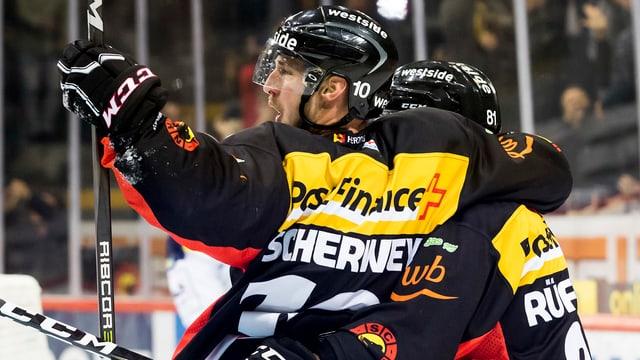 Tristan Scherwey und der SCB