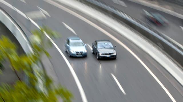 Autos sin l'autostrada.
