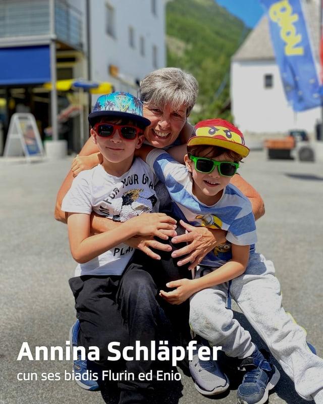 purtret dad Annina Schläpfer cun biadis