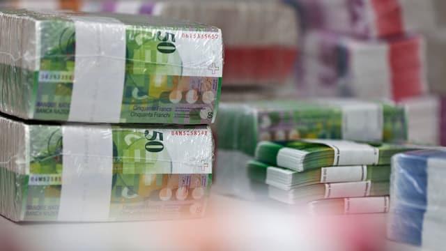 Ein Bündel Geldnoten