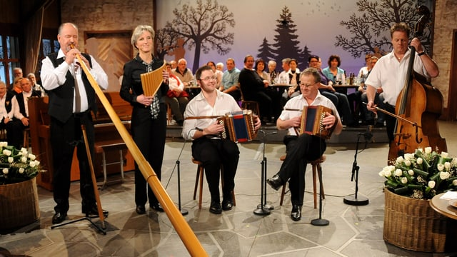 Video «Alphornvirtuose: Kurt Ott» abspielen