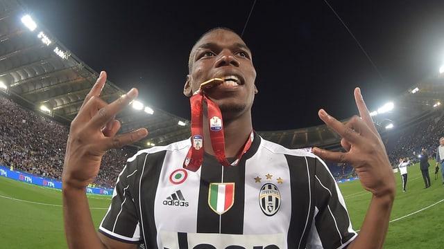 Paul Pogba im Juventus-Trikot.