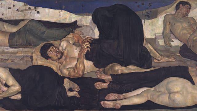 Ferdinand Hodlers «Die Nacht»