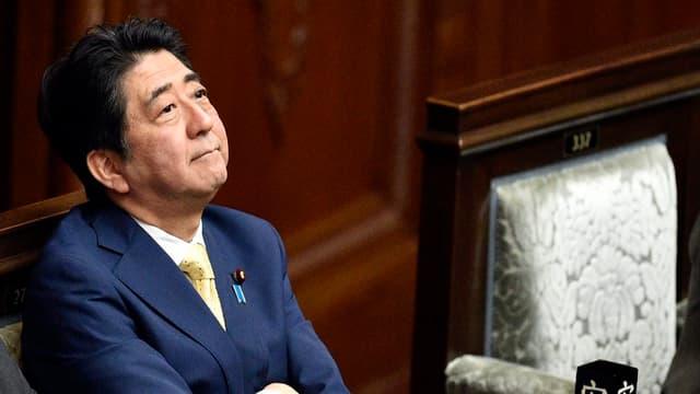 Premierminister Shinzo Abe.