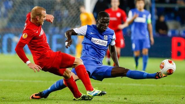 Das Spiel in Genk war rückblickend der Knackpunkt in Thuns EL-Kampagne.