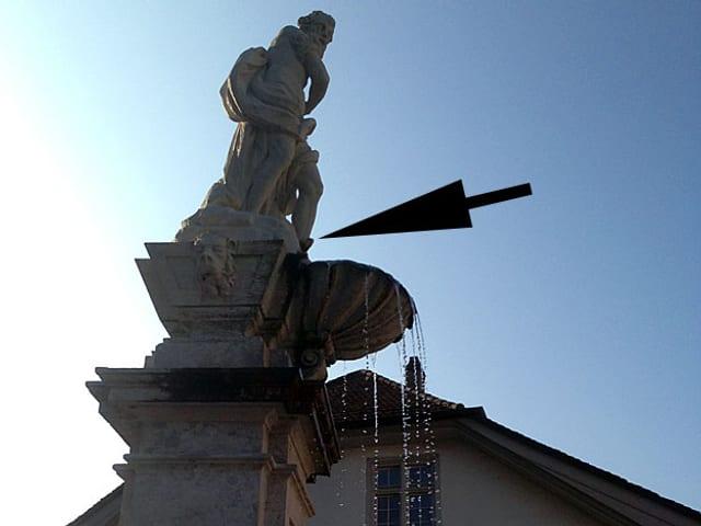 Gedeon-Brunnenfigur in Solothurn