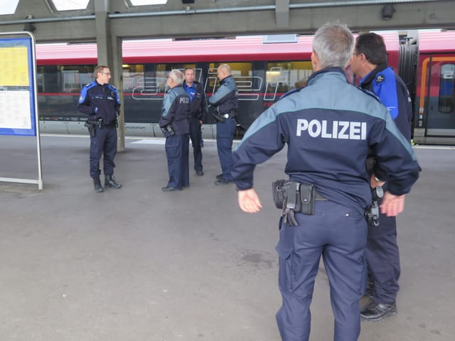 Polizisten und Grenzwächter