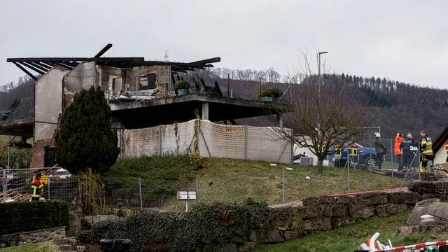 Das Haus ist zerstört