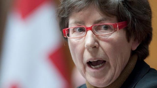 Angeklagt: CVP-Nationalrätin Kathy Riklin.