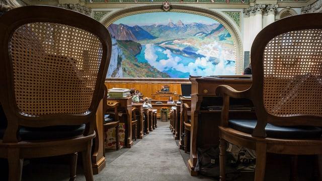 Damaun mesemna elegia il parlament svizzer ils Cussegliers federals per ils proxims 4 onns.