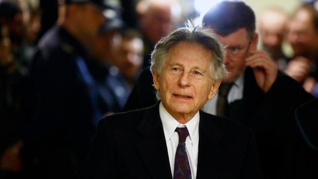 Roman Polanski nach einem Hearing im Februar 2015 in  Krakau. (reuters)