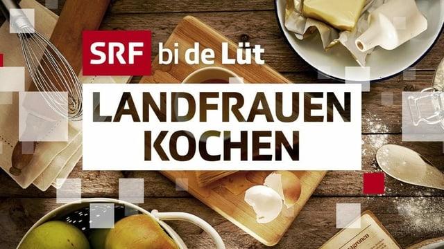 """Logo """"Landfrauen - Kochen"""""""