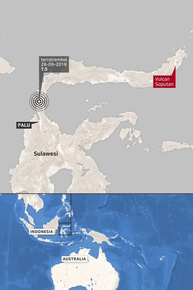 Survista da l'insla Sulawesi.