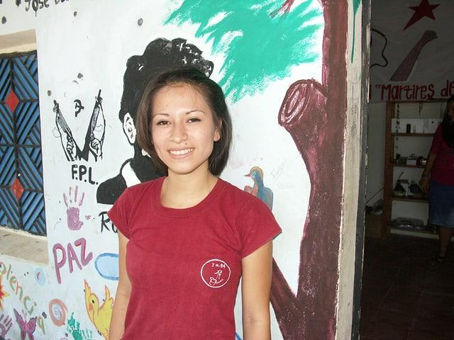 Jancy Lorena Riveras Guevara, Projekteilnehmerin.