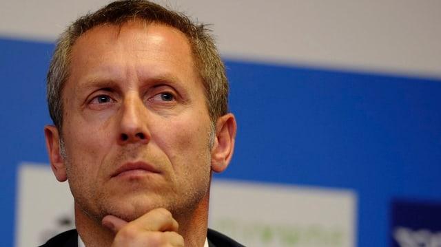 Stephan Anliker, Präsident des Zürcher Fussballclubs GC.