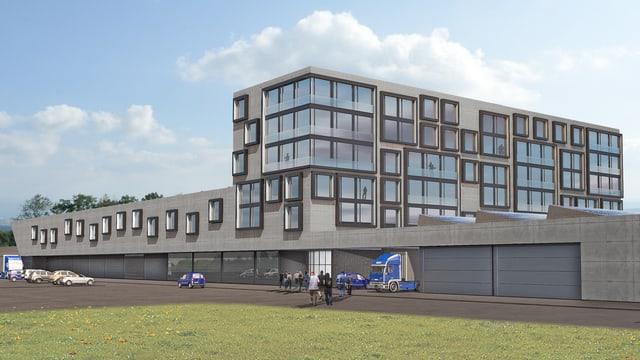 Bild des Neubaus in Kriessern.