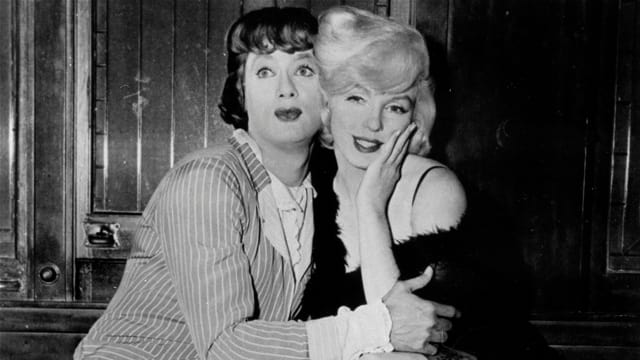 Tony Curtis und Marilyn Monroe in «Some Like It Hot».