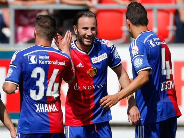 Fussballer des FC-Basel