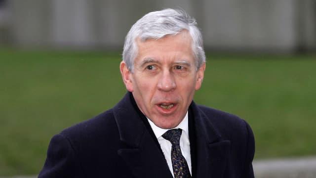 Putret da l'anteriur minister da l'exteriur Jack Straw.