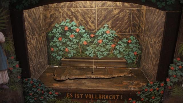 Die leere Grabkammer