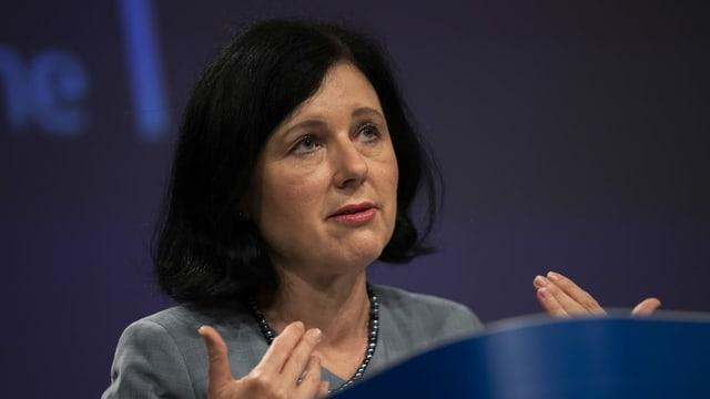 EU-Kommissarin Vera Jourova: